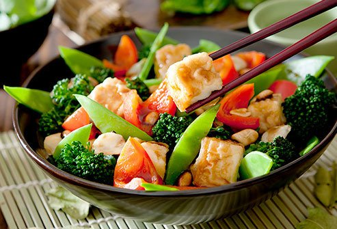 Tofu and edamame are rich in phytoestrogens.