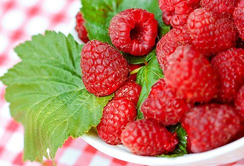 As far back as A.D. 4, parts of raspberry plants were used to treat morning sickness and stomach pain.