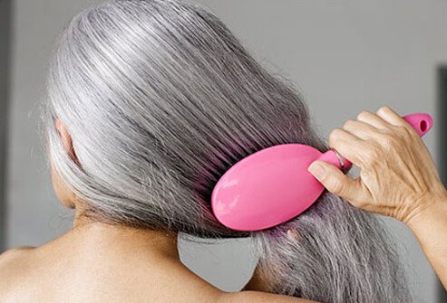 Gray hair tends to be more wiry and coarse than other hair colors.