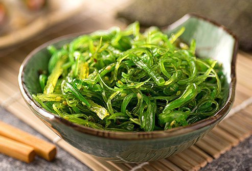 Seaweed is one of the foods that trigger acne due to the iodine content.