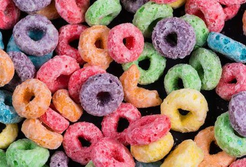 Skip fruity, sugary cereals that are full of empty calories.