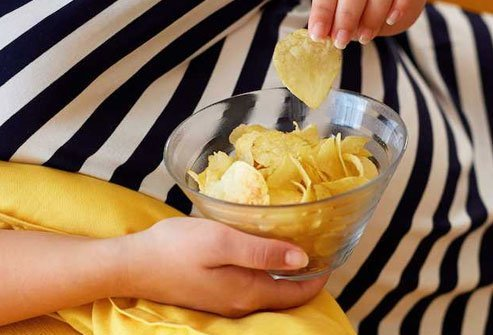 It's easy to overindulge in chips and they may expand your waistline.