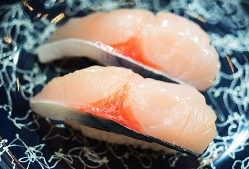 Mackerel makes an excellent choice for sushi.