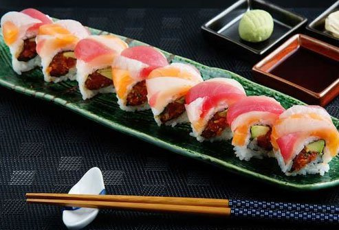 This is the Mount Everest of sushi, a combination that can include crab