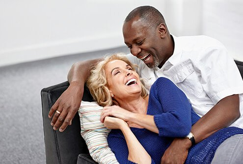 Being in love can improve your sex life after 50.