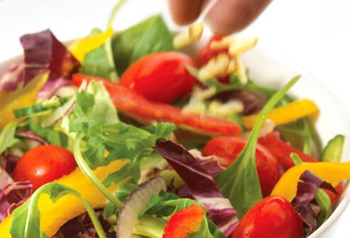 Salads can fill you up and help you resist more fattening meals.