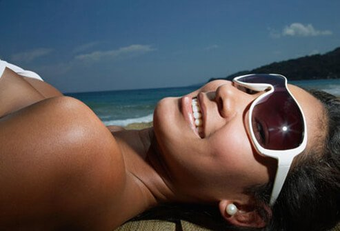 UVA and UVB rays are also damaging to the eyes.