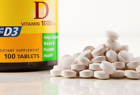 Some health experts recommend vitamin D supplements for chronic pain.