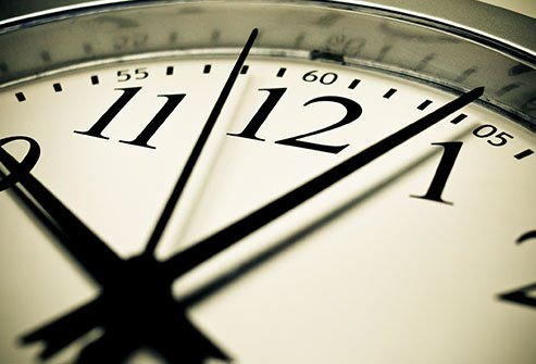 Your biological clock controls all processes in your body.