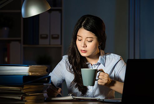 Try to keep a consistent sleep schedule because you cannot really catch up on lost sleep.