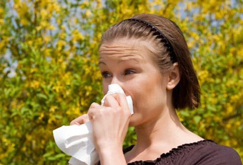 Asthma and allergies may make you cough.
