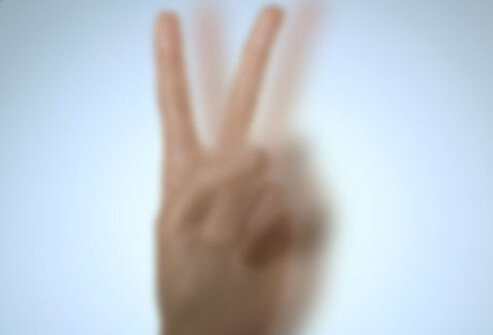 Photo of blurry fingers.