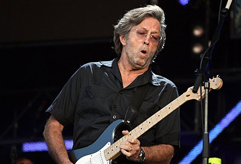 Eric Clapton built an alcohol and drug treatment center after recovering himself.