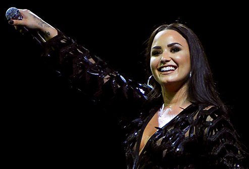Demi Lovato has struggled with substance abuse, bipolar disorder, and eating disorders.