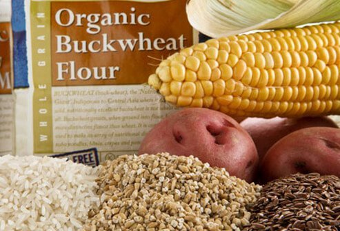 Many other starches can fill your gluten-free diet, including potatoes, rice, corn, soy, flax, and buckwheat.