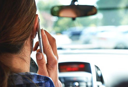 Talking while driving may be deadly.