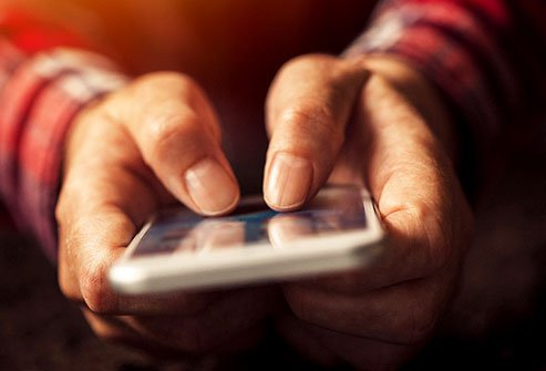 Trigger thumb is a health risk associated with excessive texting on mobile phones.