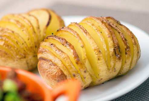 Spuds have vitamin C, fiber, and potassium, and may help lower your blood pressure and cholesterol.