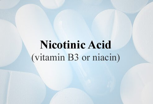 Nicotinic acid (vitamin B3 or niacin) is most effective in increasing HDL cholesterol and modestly effective in lowering LDL cholesterol, and triglyceride levels.