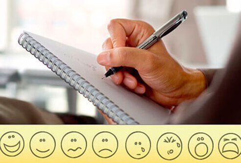 Track your pain by keeping a journal as a record to share with your doctor.