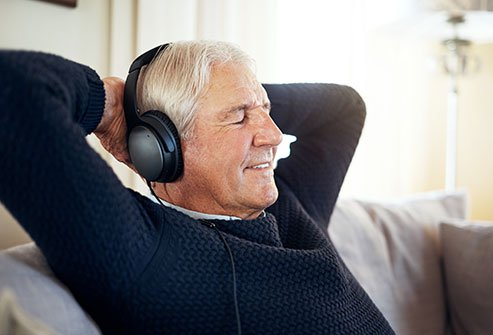 Listen to music to get relief from chronic pain.