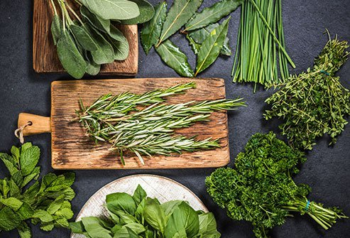 Some lab studies show an anti-tumor tendency in certain herbs.