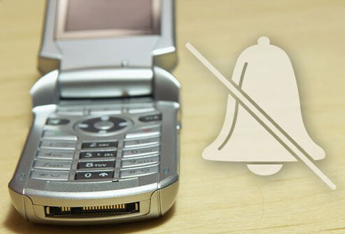 Photo of a cellular phone.