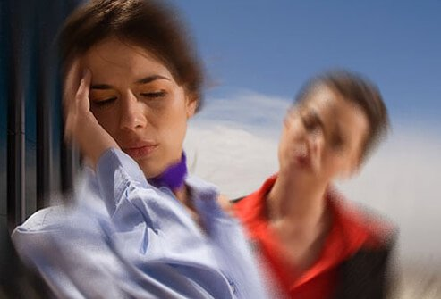 A common effect of a traumatic brain injury is damage or loss of balance and feeling dizzy.
