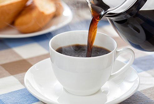 Along with the caffeine boost you get, coffee's antioxidants help protect your cells.