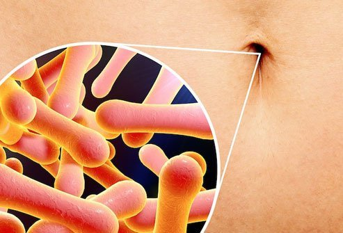 Your bellybutton harbors lint and bacteria.