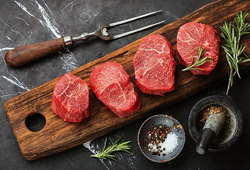 Red meat may contribute to raising your Alzheimer's risk.