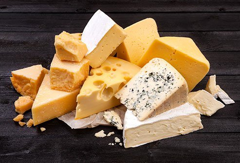 With its high percentage of saturated fats, cheese is a food to be avoided on the MIND diet.