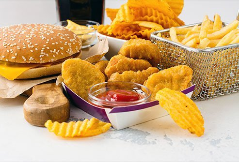 Fried and fatty fast foods often come with AGEs, which are chemicals connected to an elevated risk of dementia.