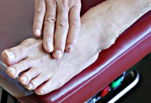 Check and examine your feet every day.
