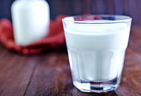 Dairy products can interfere with some meds.