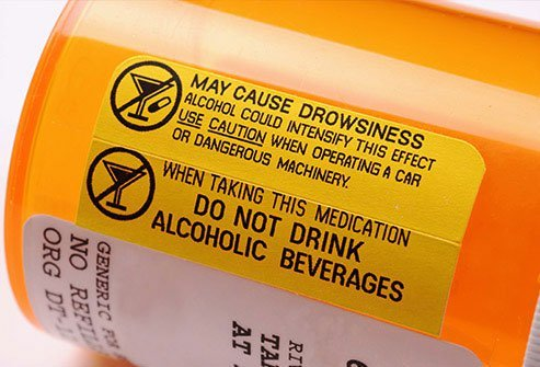 Alcohol can be dangerous when you are on drugs for medical conditions.