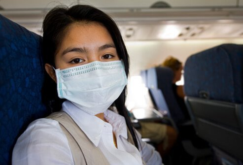 In lab conditions, the Ebola virus has been shown to spread through the air.