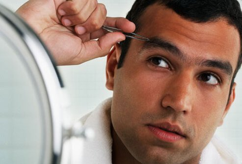 Testosterone, a male hormone, is what causes men to have more body hair than women.