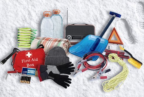 FEMA emergency preparedness urges you to have a car kit to handle unexpected dangers while on the road.