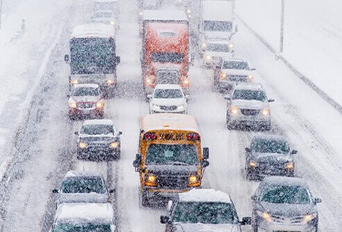 Only leave your car in winter conditions if you will be safe and can access help easily.