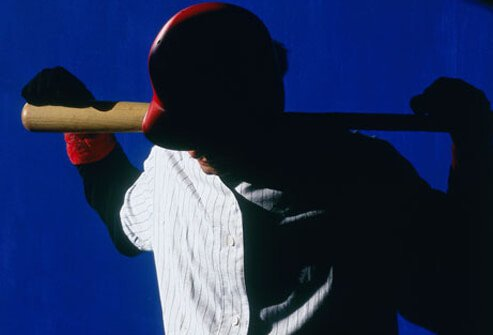Photo of a dejected baseball player.