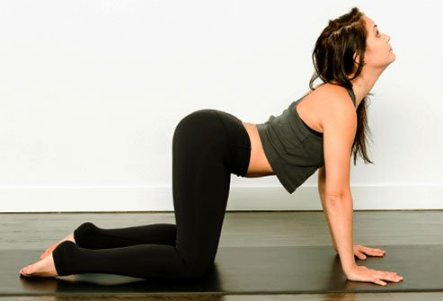 Think of this yoga pose as another form of foreplay.