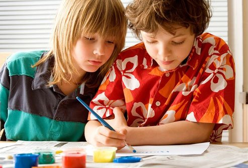 Colorblindness may become apparent when children start to learn the names of colors.
