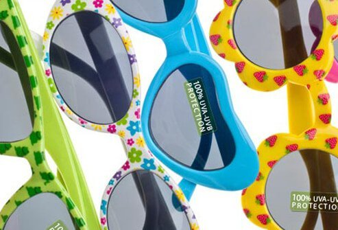 Photo of children's sunglasses.
