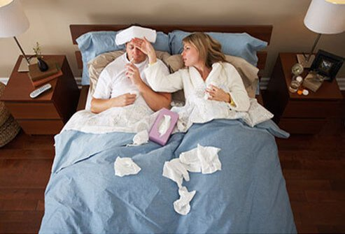 It is possible to get the flu even though one has gotten the flu vaccine.