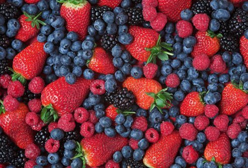 Photo of mixed berries.