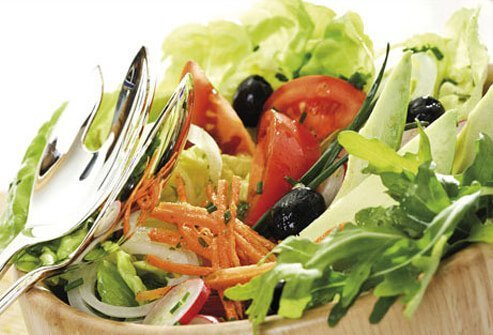 Photo of healthy salad.