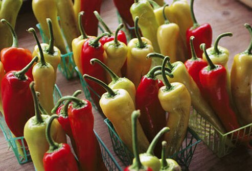 Photo of hot peppers.