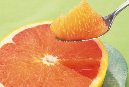 Photo of grapefruit.