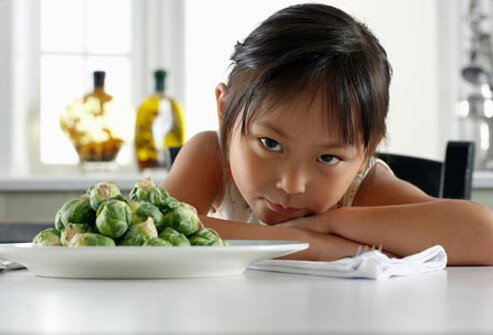 Most children get over being picky eaters by the time they reach school age.